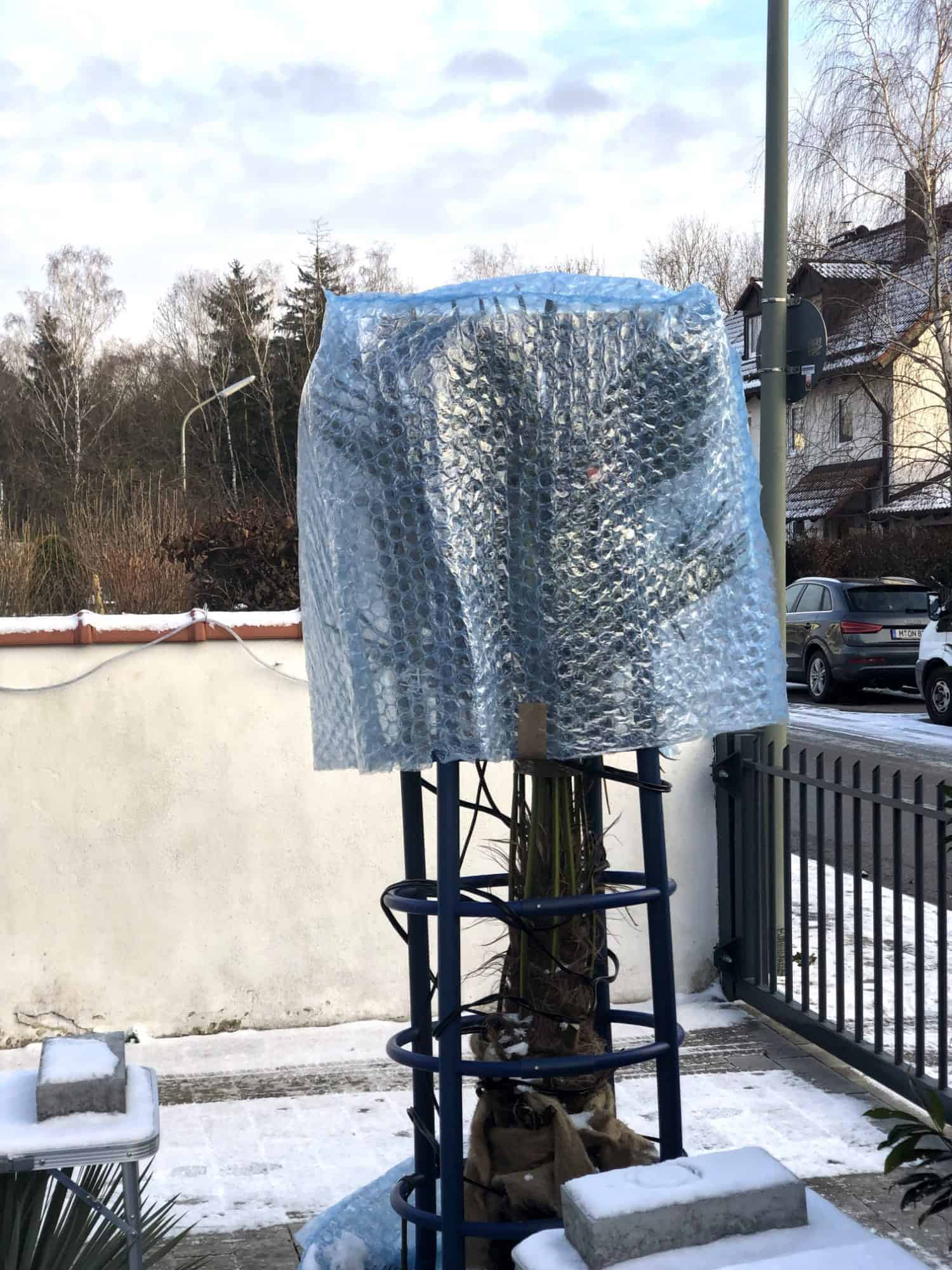 DIY: Luftpolsterhaube 1