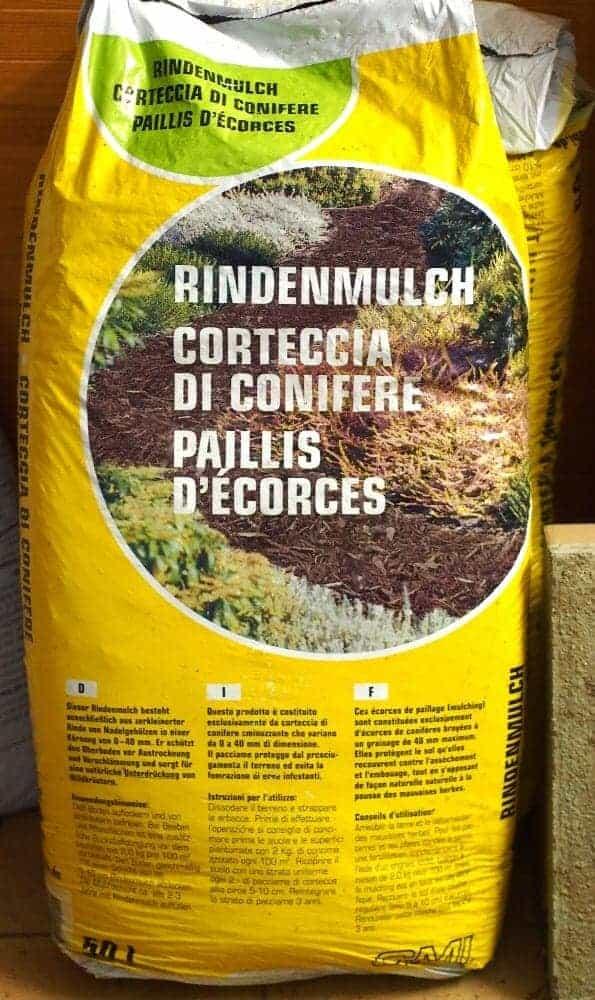 Mulchen von Pflanzen 1